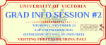 Grad Info Session – University of Victoria